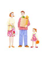 家族3人 10757001004| 写真素材・ストックフォト・画像・イラスト素材|アマナイメージズ