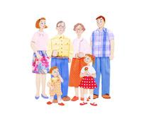 二世帯家族 10757001010| 写真素材・ストックフォト・画像・イラスト素材|アマナイメージズ