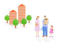 3人家族とマンション