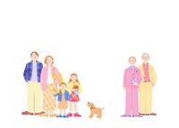 二世帯家族