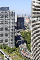 世界貿易センタービルから見る都心の街並