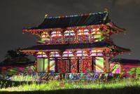 平城京天平祭のデジタル掛軸