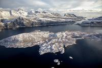 ロフォーテン諸島の空撮 10770000134| 写真素材・ストックフォト・画像・イラスト素材|アマナイメージズ