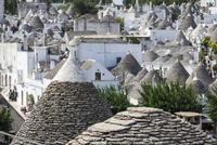 トゥルッリの町アルベロベッロ3 10770000151| 写真素材・ストックフォト・画像・イラスト素材|アマナイメージズ