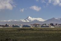 ウユニ空港からの景色 10770000308| 写真素材・ストックフォト・画像・イラスト素材|アマナイメージズ