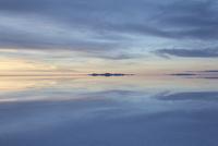 ウユニ塩湖の夕暮れ5
