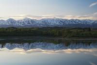 大雪山と水沢ダム 10770000351| 写真素材・ストックフォト・画像・イラスト素材|アマナイメージズ