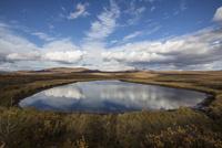 トゥームストーン準州立公園にある湖 10770000460| 写真素材・ストックフォト・画像・イラスト素材|アマナイメージズ