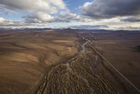 トゥームストーン準州立公園の空撮3 10770000462| 写真素材・ストックフォト・画像・イラスト素材|アマナイメージズ