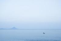 枕崎から望む開聞岳