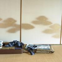 畳の上の浴衣セット