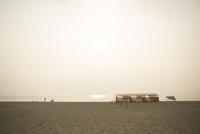 瀬戸内海のビーチ