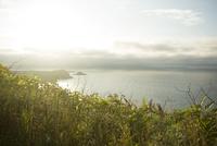 ペシ岬から望む夕景