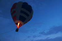 ブルーモーメントと気球