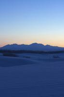 夜明け前の旭岳