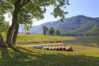かなやま湖畔の朝