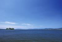 嫁ヶ島浮かぶ夏の宍道湖