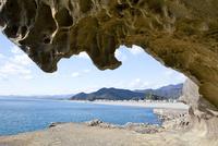 鬼ヶ城の奇岩 10790005003| 写真素材・ストックフォト・画像・イラスト素材|アマナイメージズ