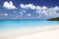 与論島のウドノスビーチ 10790005290| 写真素材・ストックフォト・画像・イラスト素材|アマナイメージズ