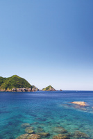 南さつま海道八景 輝津館展望所から望む双剣石