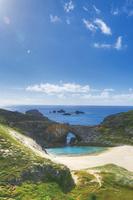 小笠原諸島の南島にある扇池