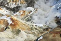 冬の登別地獄谷