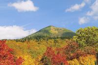 酸ヶ湯から見る八甲田山頂