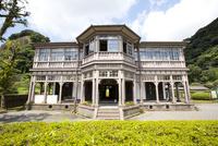 洋風建築の旧鹿児島紡績所技師館