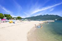 小豆島のオリーブビーチ