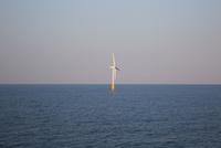 洋上風力発電所の風車