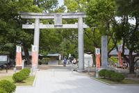世界遺産 松陰神社の鳥居