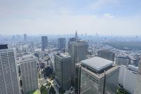 東京都庁展望台からの眺望,高層ビル群 10813000123| 写真素材・ストックフォト・画像・イラスト素材|アマナイメージズ