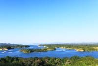 伊勢志摩・登茂山公園桐垣展望台より英虞湾の島々を望む