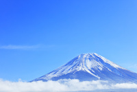 富士山と青空