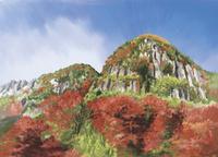 一目八景から見上げる深耶馬渓 10822000027| 写真素材・ストックフォト・画像・イラスト素材|アマナイメージズ