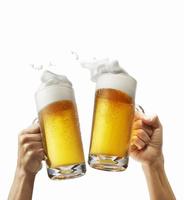 ビール乾杯イメージ,手あり