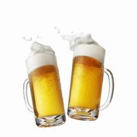 ビール乾杯イメージ,手なし