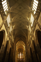 プラハの聖ヴィート教会内観