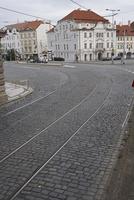 プラハ旧市街の石畳の道 10826000641  写真素材・ストックフォト・画像・イラスト素材 アマナイメージズ