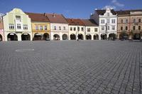 プラハ旧市街の石畳の広場 10826000656  写真素材・ストックフォト・画像・イラスト素材 アマナイメージズ