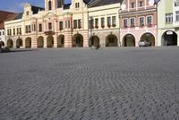 プラハ旧市街の石畳の広場