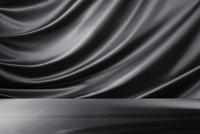 黒のドレープ 10826000684  写真素材・ストックフォト・画像・イラスト素材 アマナイメージズ