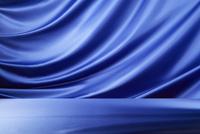 青のドレープ 10826000709  写真素材・ストックフォト・画像・イラスト素材 アマナイメージズ