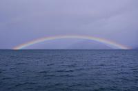 琵琶湖 虹