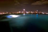 バンコック夜景とプライベートプール