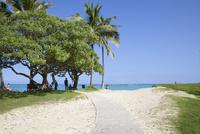 カイルアビーチに向かう道