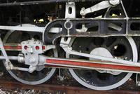 多賀SLパーク跡 SLの車輪