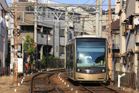 阪堺電車 住吉停留場付近