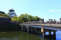 大阪城天守閣と極楽橋