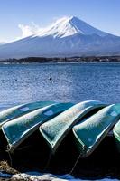 西湖からみた富士山